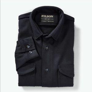 Filson // Jac Shirt in Wool, Navy